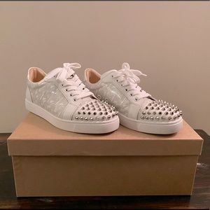 Brand new Christin louboutin spike sneakers